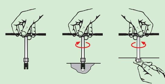 孔型自攻螺套安装方法